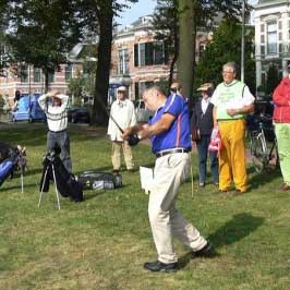Golf in the parks of Deventer